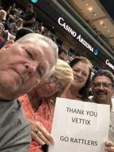 Garry attended Arizona Rattlers vs. Sioux Falls Storm - IFL - 2019 United Bowl on Jul 13th 2019 via VetTix