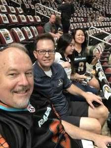 ken attended Arizona Rattlers vs. Sioux Falls Storm - IFL - 2019 United Bowl on Jul 13th 2019 via VetTix