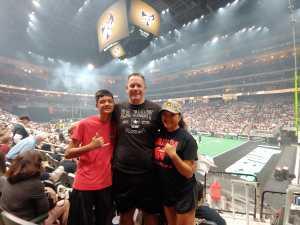 THOMAS attended Arizona Rattlers vs. Sioux Falls Storm - IFL - 2019 United Bowl on Jul 13th 2019 via VetTix