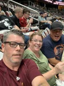 roger attended Arizona Rattlers vs. Sioux Falls Storm - IFL - 2019 United Bowl on Jul 13th 2019 via VetTix