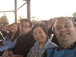 Eldridge attended Heart: Love Alive Tour - Pop on Jul 11th 2019 via VetTix