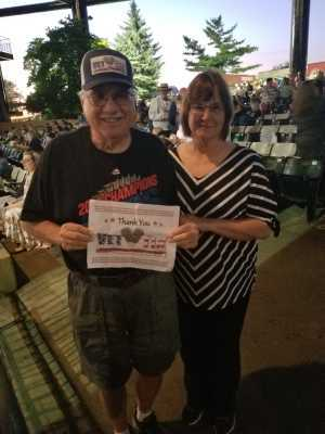 Ronald attended Heart: Love Alive Tour - Pop on Jul 11th 2019 via VetTix