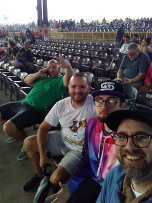 Steven attended Blink-182 & Lil Wayne - Pop on Jul 11th 2019 via VetTix