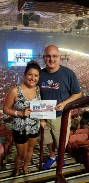 Richard attended New Kids on the Block: the Mixtape Tour - Pop on Jul 10th 2019 via VetTix