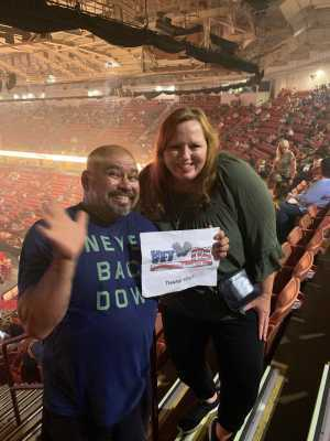 Gil Bocanegra attended New Kids on the Block: the Mixtape Tour - Pop on Jul 10th 2019 via VetTix