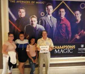 Ralph attended Champions of Magic - Magic on Jul 5th 2019 via VetTix