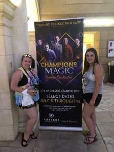 Roy attended Champions of Magic - Magic on Jul 5th 2019 via VetTix