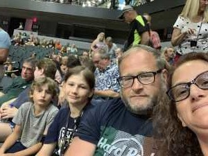 Chaz attended Heart: Love Alive Tour - Pop on Jul 12th 2019 via VetTix