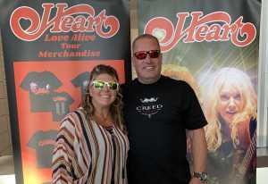John and Christine  attended Heart: Love Alive Tour - Pop on Jul 12th 2019 via VetTix