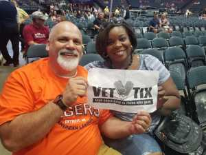 Yvette attended Heart: Love Alive Tour - Pop on Jul 12th 2019 via VetTix