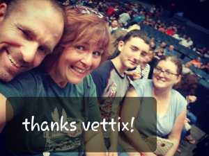 duane attended Heart: Love Alive Tour - Pop on Jul 12th 2019 via VetTix