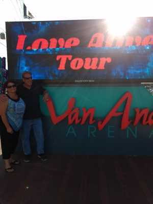 Kirk attended Heart: Love Alive Tour - Pop on Jul 12th 2019 via VetTix