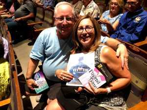 Arthur attended The Pajama Game Starring Cory Mccloskey - Tempe Center for the Arts on Jul 11th 2019 via VetTix