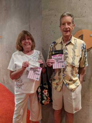 James  attended The Pajama Game Starring Cory Mccloskey - Tempe Center for the Arts on Jul 11th 2019 via VetTix