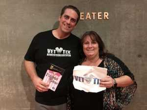 Rebecca  attended The Pajama Game Starring Cory Mccloskey - Tempe Center for the Arts on Jul 11th 2019 via VetTix