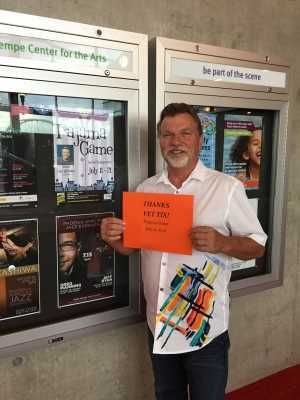 William attended The Pajama Game Starring Cory Mccloskey - Tempe Center for the Arts on Jul 12th 2019 via VetTix