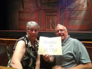 Michael attended The Pajama Game Starring Cory Mccloskey - Tempe Center for the Arts on Jul 12th 2019 via VetTix