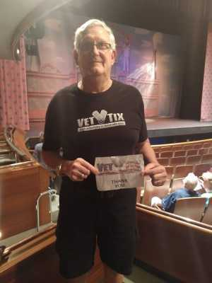 Daniel attended The Pajama Game Starring Cory Mccloskey - Tempe Center for the Arts on Jul 12th 2019 via VetTix