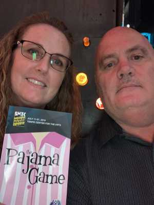 Patrick attended The Pajama Game Starring Cory Mccloskey - Tempe Center for the Arts on Jul 12th 2019 via VetTix