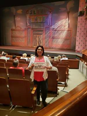 Yolanda attended The Pajama Game Starring Cory Mccloskey - Tempe Center for the Arts on Jul 12th 2019 via VetTix