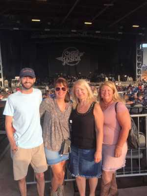 Allison attended Chris Young: Raised on Country Tour - Country on Jul 11th 2019 via VetTix