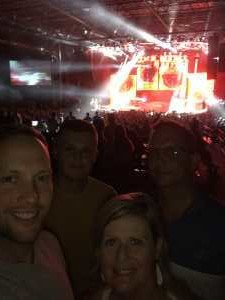 Brennan attended Chris Young: Raised on Country Tour - Country on Jul 11th 2019 via VetTix