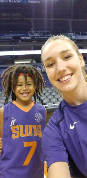 Cal attended Phoenix Mercury vs. Atlanta Dream - WNBA on Jul 7th 2019 via VetTix