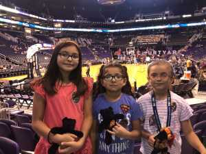 Eugene attended Phoenix Mercury vs. Atlanta Dream - WNBA on Jul 7th 2019 via VetTix