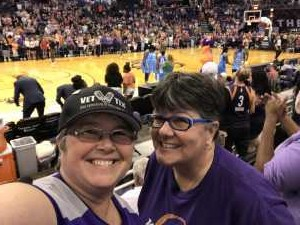 Kelly attended Phoenix Mercury vs. Atlanta Dream - WNBA on Jul 7th 2019 via VetTix