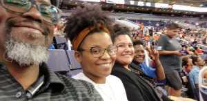 Marquis attended Phoenix Mercury vs. Atlanta Dream - WNBA on Jul 7th 2019 via VetTix