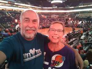 Bruce attended Phoenix Mercury vs. Atlanta Dream - WNBA on Jul 7th 2019 via VetTix