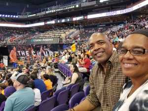 Christopher attended Phoenix Mercury vs. Atlanta Dream - WNBA on Jul 7th 2019 via VetTix