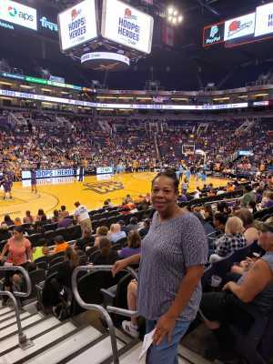 MARY attended Phoenix Mercury vs. Atlanta Dream - WNBA on Jul 7th 2019 via VetTix