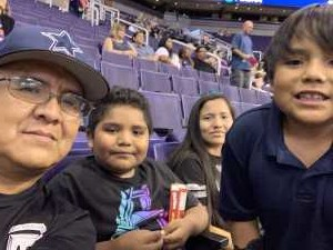 Juan attended Phoenix Mercury vs. Atlanta Dream - WNBA on Jul 7th 2019 via VetTix
