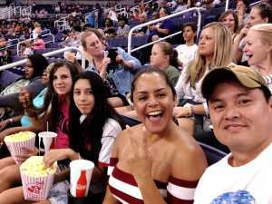 Rodolfo attended Phoenix Mercury vs. Atlanta Dream - WNBA on Jul 7th 2019 via VetTix