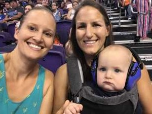 Casey attended Phoenix Mercury vs. Atlanta Dream - WNBA on Jul 7th 2019 via VetTix