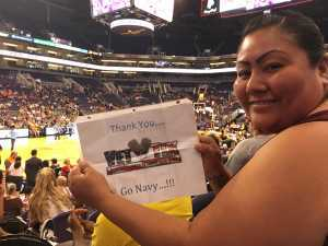 Marissa attended Phoenix Mercury vs. Atlanta Dream - WNBA on Jul 7th 2019 via VetTix