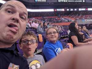 Michael attended Phoenix Mercury vs. New York Liberty - WNBA on Jul 5th 2019 via VetTix