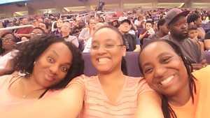 Leslie attended Phoenix Mercury vs. New York Liberty - WNBA on Jul 5th 2019 via VetTix