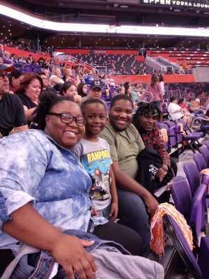 Lillian attended Phoenix Mercury vs. New York Liberty - WNBA on Jul 5th 2019 via VetTix