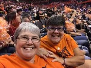Kelly attended Phoenix Mercury vs. New York Liberty - WNBA on Jul 5th 2019 via VetTix