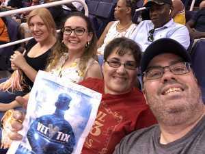 Glen attended Phoenix Mercury vs. New York Liberty - WNBA on Jul 5th 2019 via VetTix