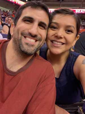 Cynthia attended Phoenix Mercury vs. New York Liberty - WNBA on Jul 5th 2019 via VetTix