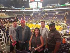 Richard attended Phoenix Mercury vs. New York Liberty - WNBA on Jul 5th 2019 via VetTix