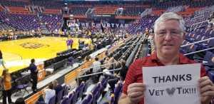 PhilR9 attended Phoenix Mercury vs. New York Liberty - WNBA on Jul 5th 2019 via VetTix