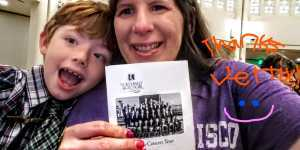 Shelly and Andrew attended Northwest Boychoir Tour Kickoff - Friday Evening Performance - **see Notes - No One Under the Age of 5 Year Old on Jul 5th 2019 via VetTix