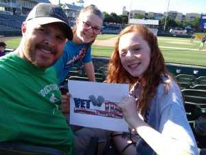 Brian attended Frisco RoughRiders vs. Amarillo Sod Poodles - MiLB on Jul 12th 2019 via VetTix