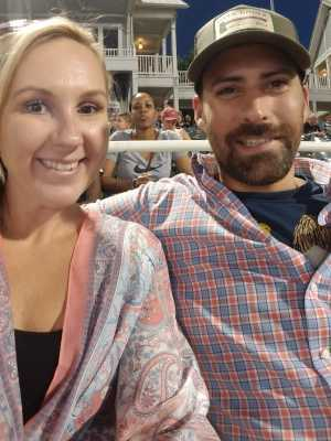 Austen attended Frisco RoughRiders vs. Amarillo Sod Poodles - MiLB on Jul 12th 2019 via VetTix
