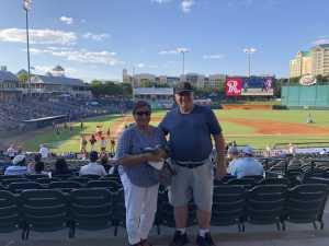 Clifford attended Frisco RoughRiders vs. Amarillo Sod Poodles - MiLB on Jul 12th 2019 via VetTix