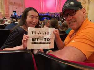 Robert attended Sweet Charity Choir: Live at Carnegie Hall on Jul 15th 2019 via VetTix